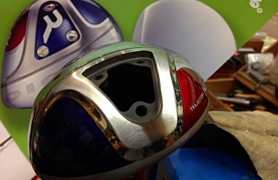 ロッディオ・タイプMドライバー ヘッドのバランス調整