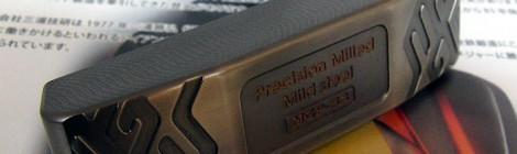 ヘビーウェイトパターにストレスフリーカーボンシャフト