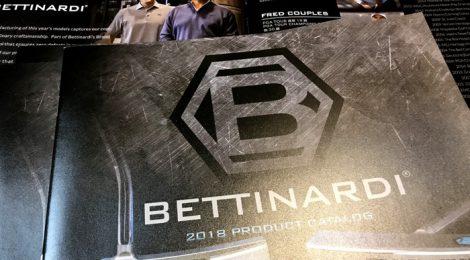 2018年 ベティナルディのカタログが