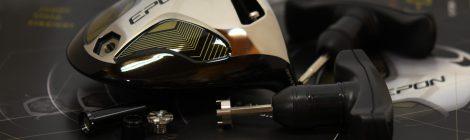 新しいエポンのドライバーヘッドはカスタマイズできます|エポンと言えば岡崎市の大信プロダクトです