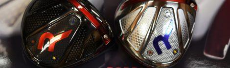 ロッディオSデザインドライバーヘッド、黒艶消しとシルバー艶ありのデザイン|ゴルフクラフト大信プロダクト