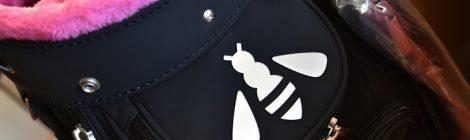 ブラックマットのロッディオプレミアムキャディバッグ|岡崎市ゴルフ工房大信プロダクト